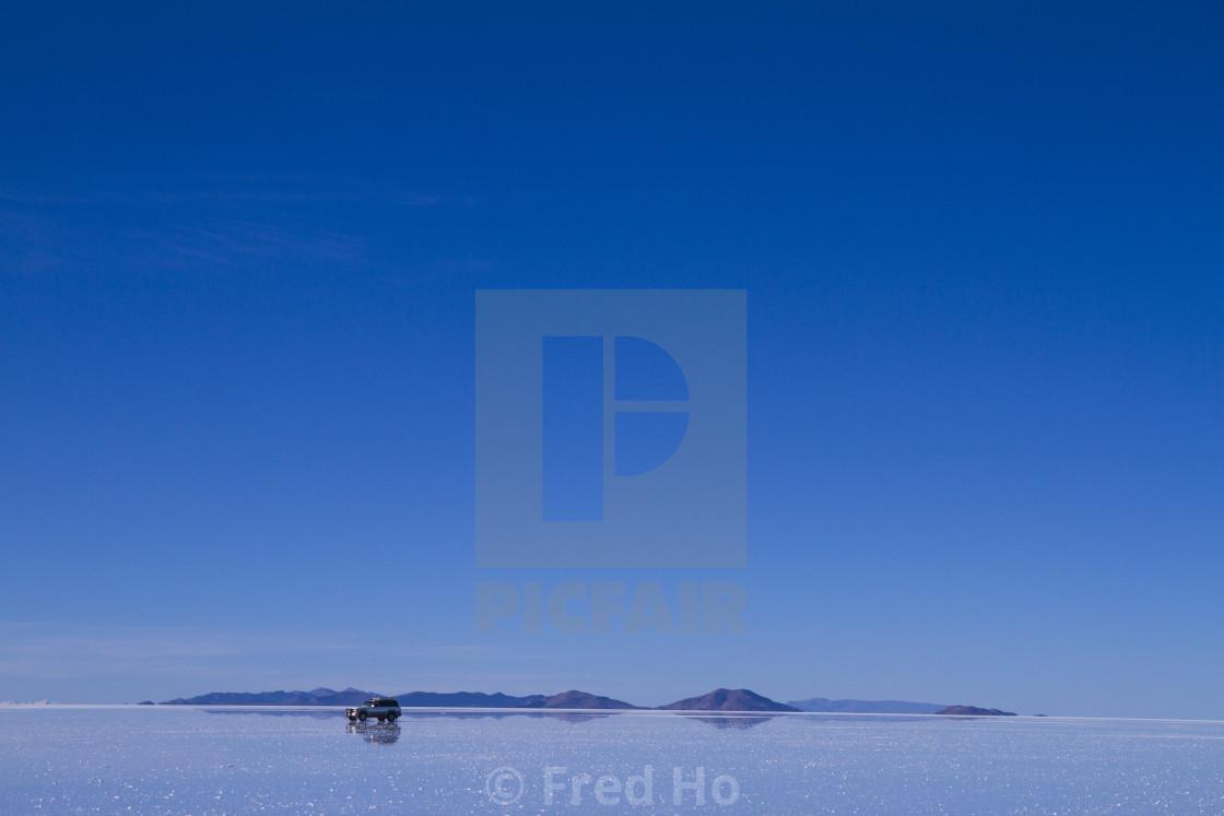 """""""Bolivia-Salar de Uyuni"""" stock image"""