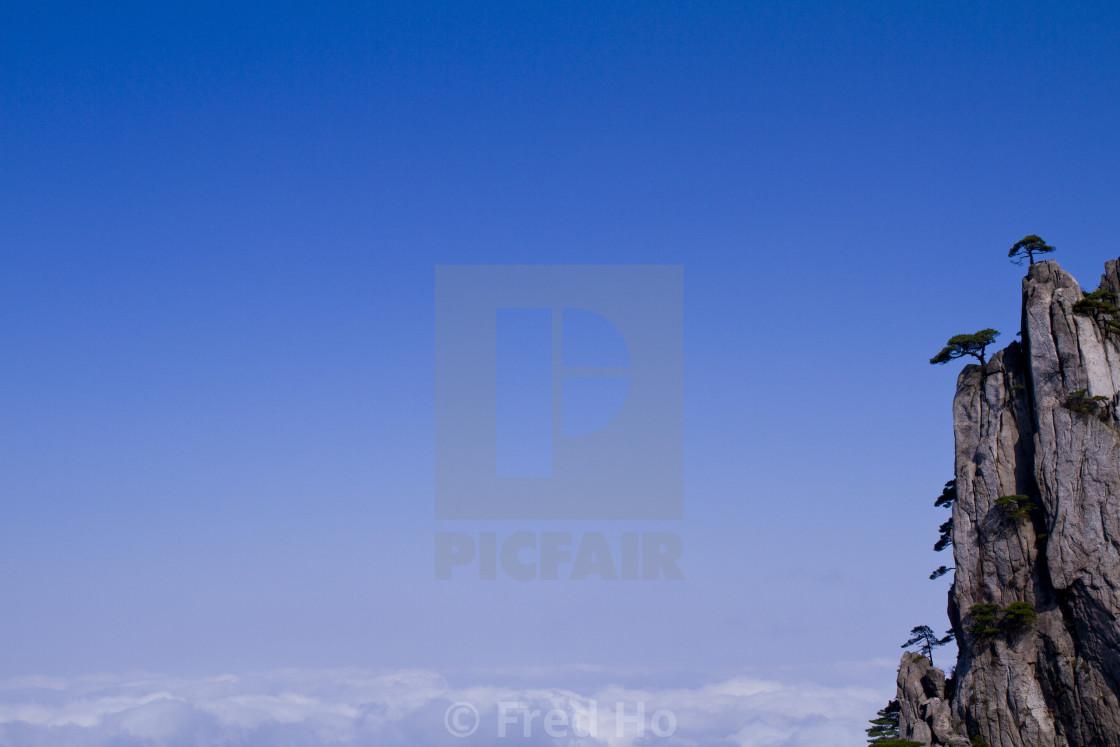 """China Huang Mountain"" stock image"