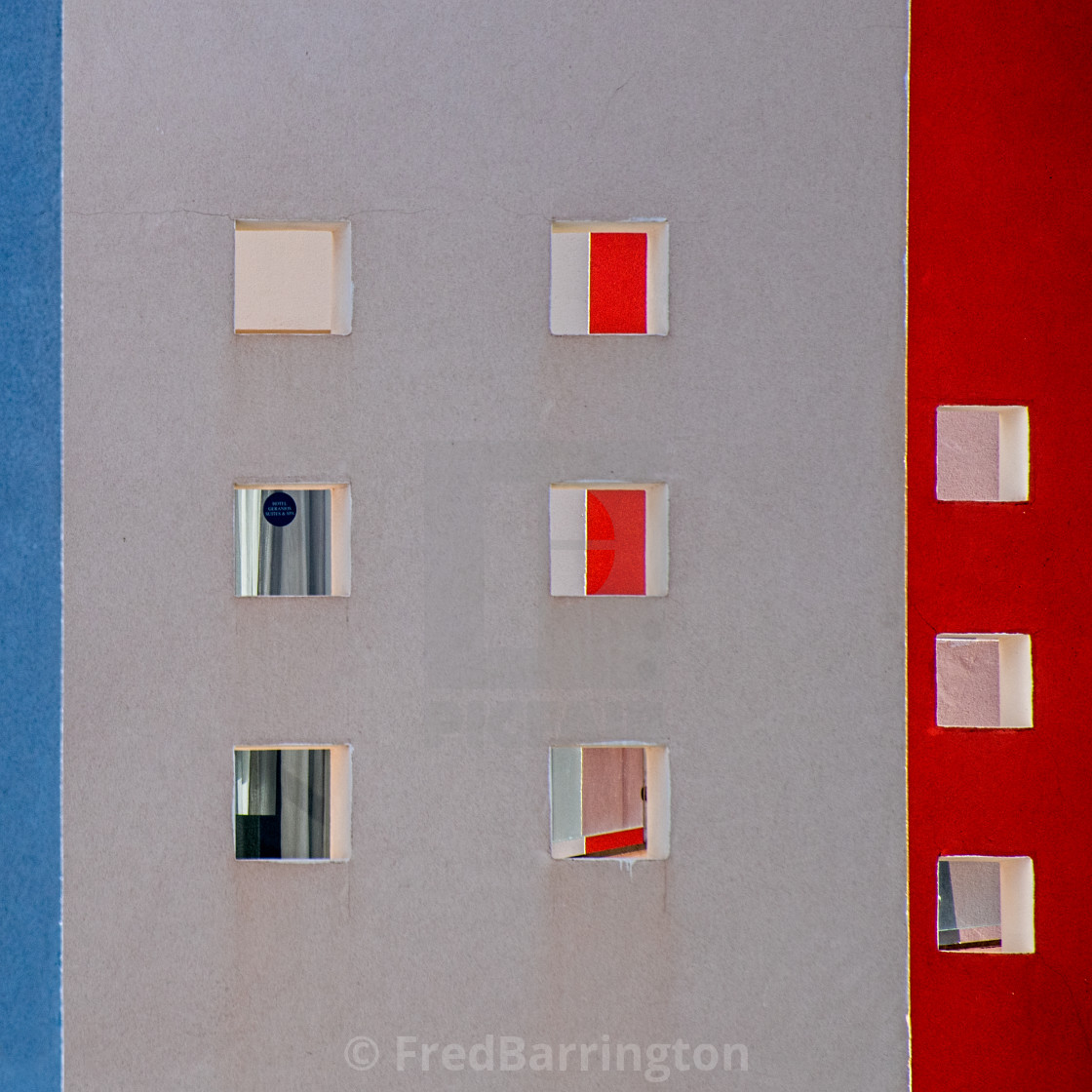 """Patterns in Squares"" stock image"