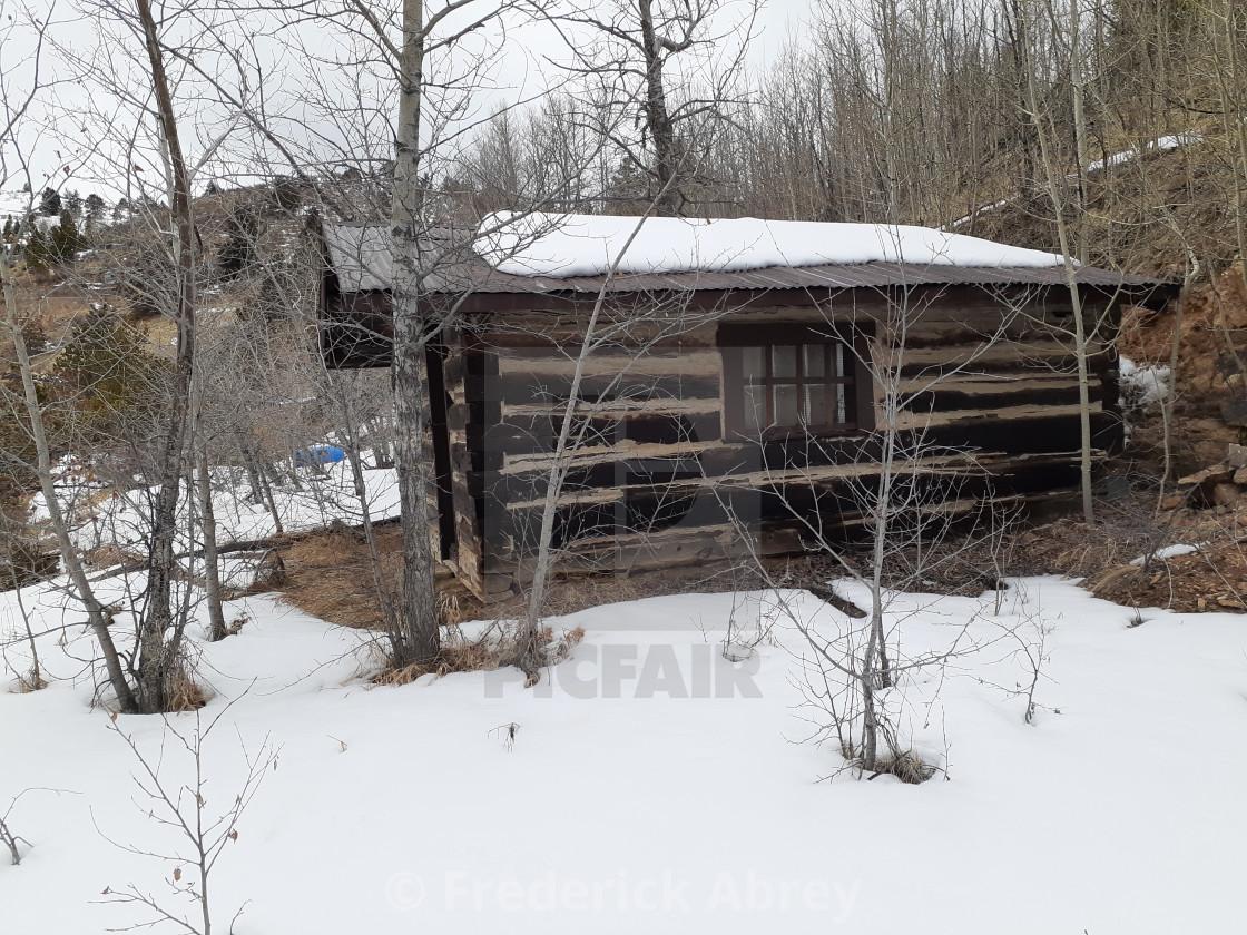 """Miners cabin Central City Colorado"" stock image"