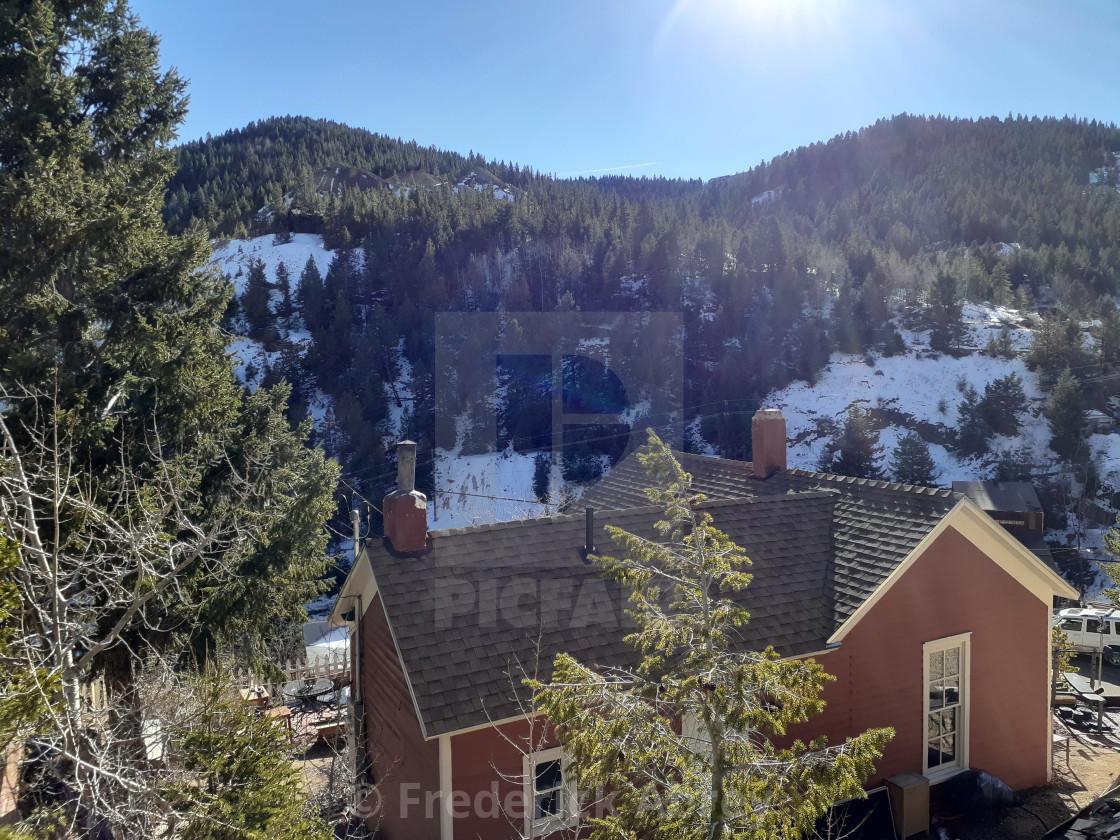 """Central City Colorado"" stock image"