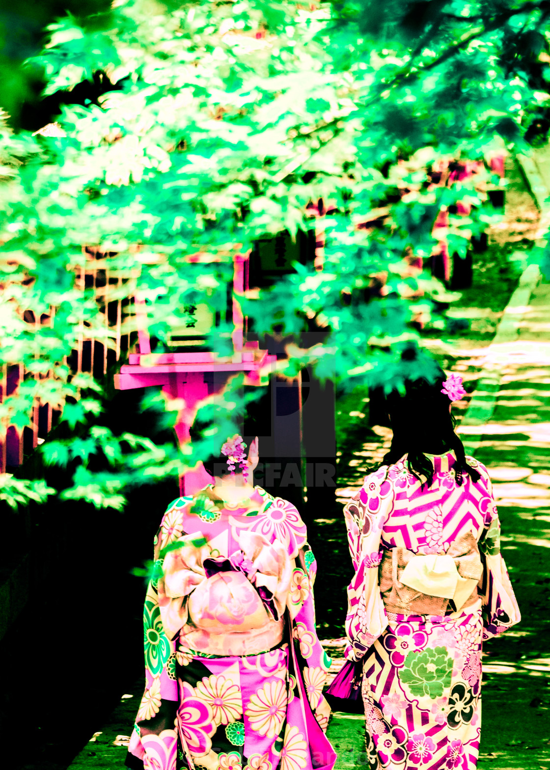"""Neon Lights Tokyo Japan"" stock image"