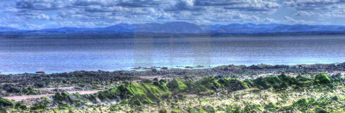 """""""Solway Firth"""" stock image"""