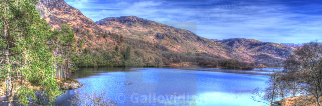 """Loch Trool"" stock image"