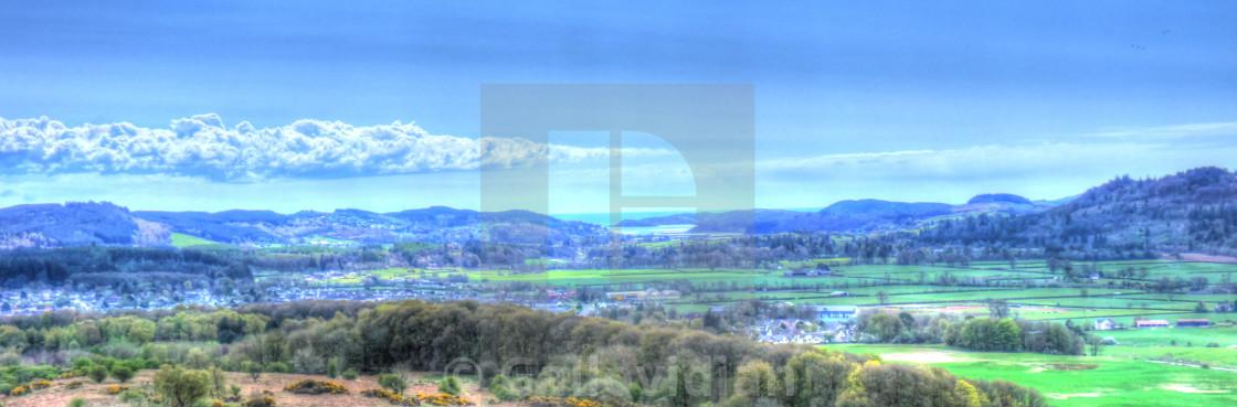 """Dalmony Hill"" stock image"