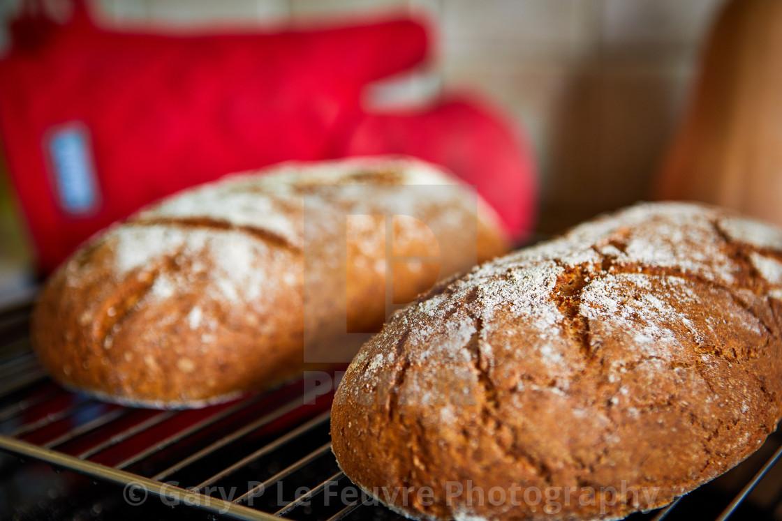 """""""Spelt/Rye bread"""" stock image"""