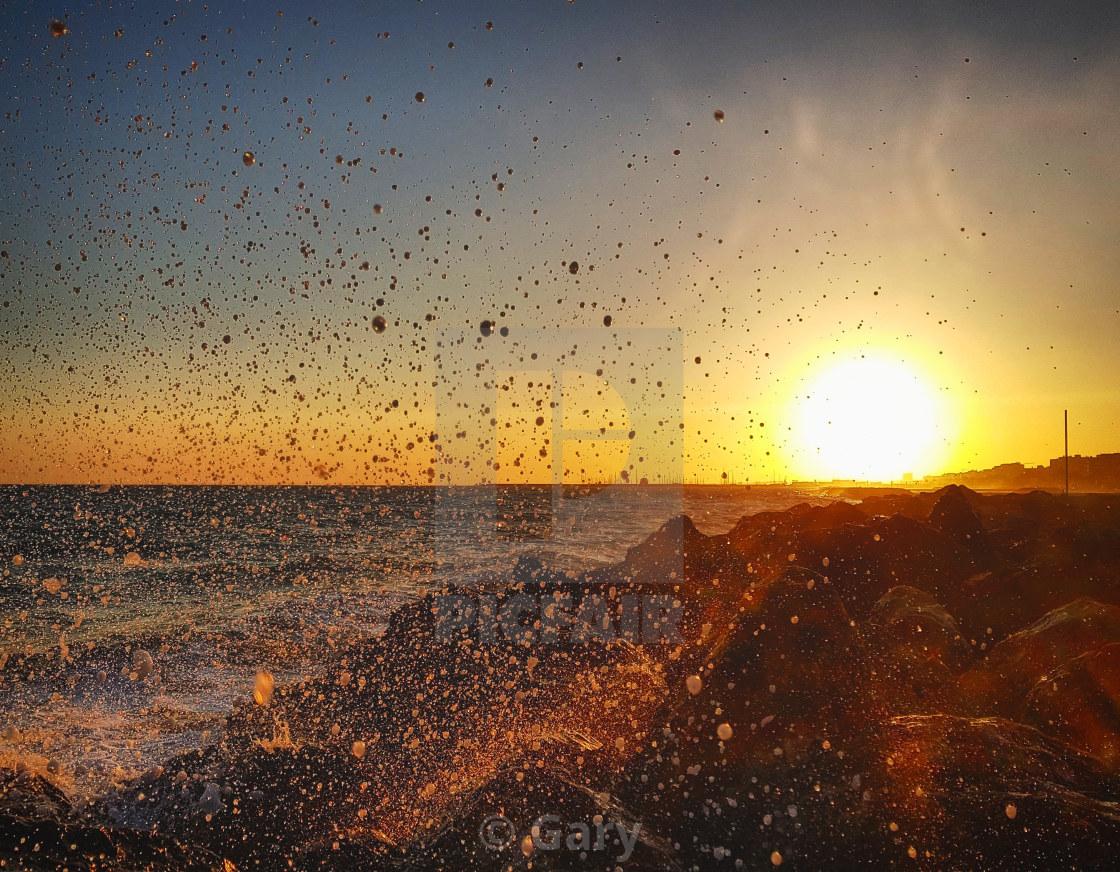 """Summer Spray"" stock image"