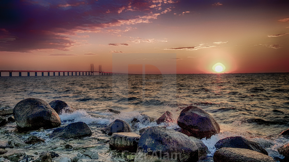 """Oresund Bridge"" stock image"