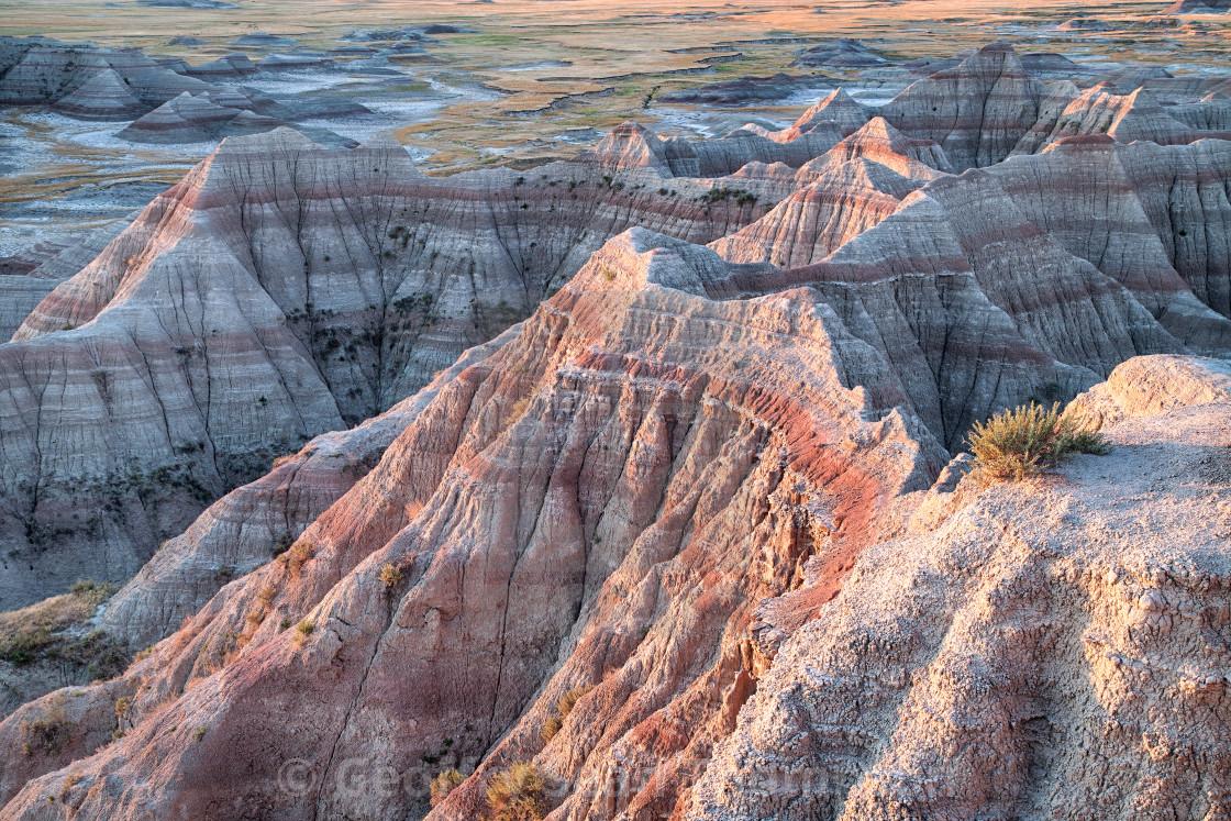 """South Dakota Badlands"" stock image"