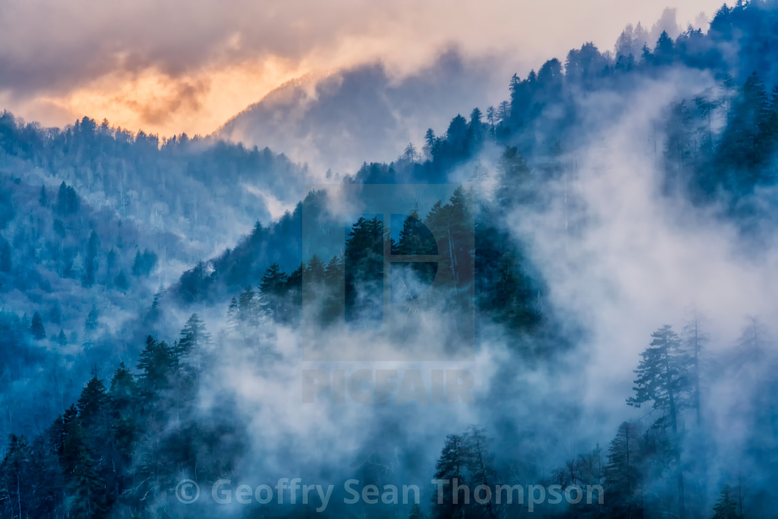 """Smoky Mountains"" stock image"