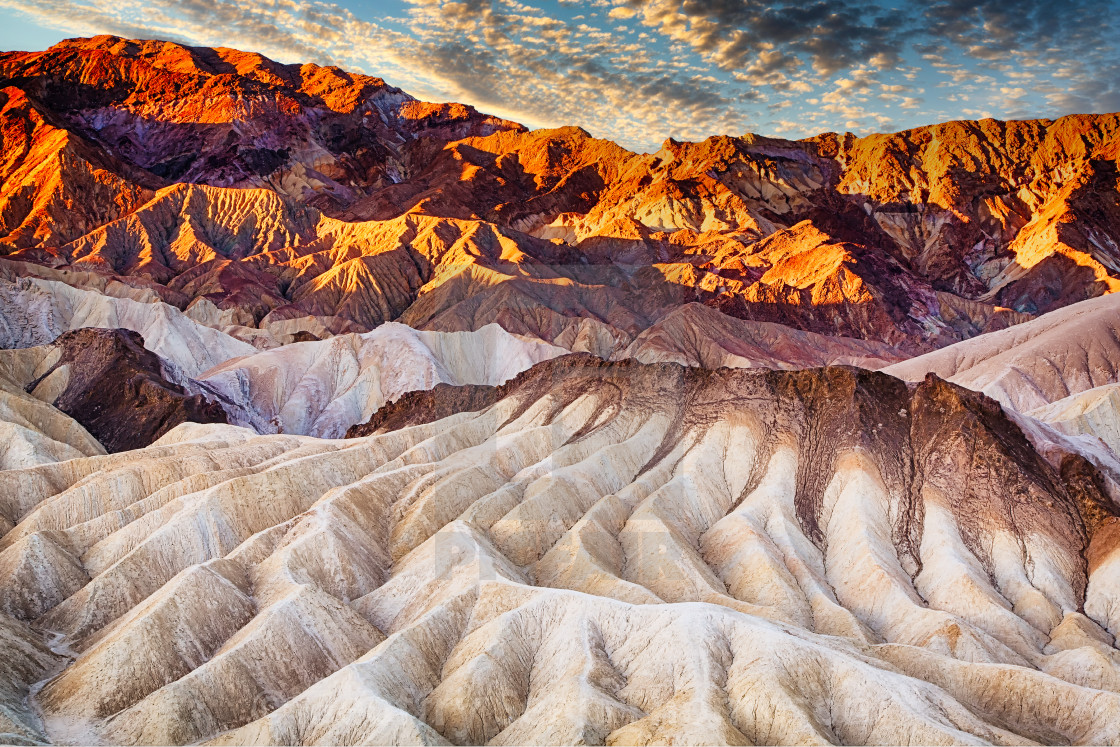 """Death Valley Sunrise"" stock image"