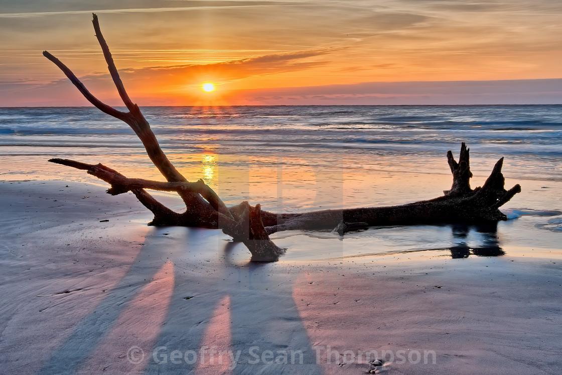 """""""Coastal Sunrise"""" stock image"""