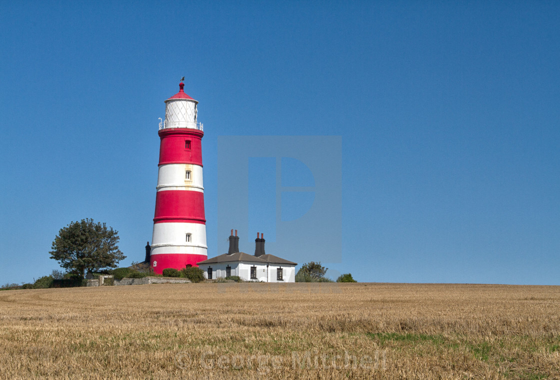 """Lighthouse in Norfolk"" stock image"
