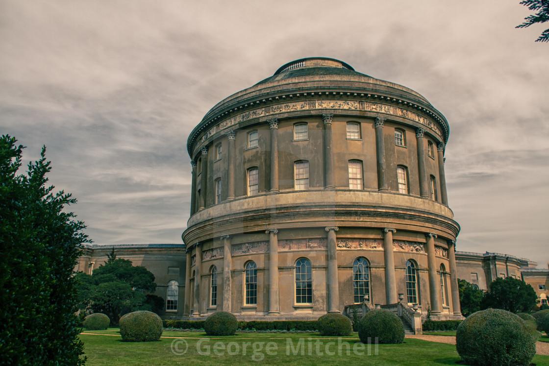 """""""Rotunder, Ickworth House, Suffolk, UK"""" stock image"""