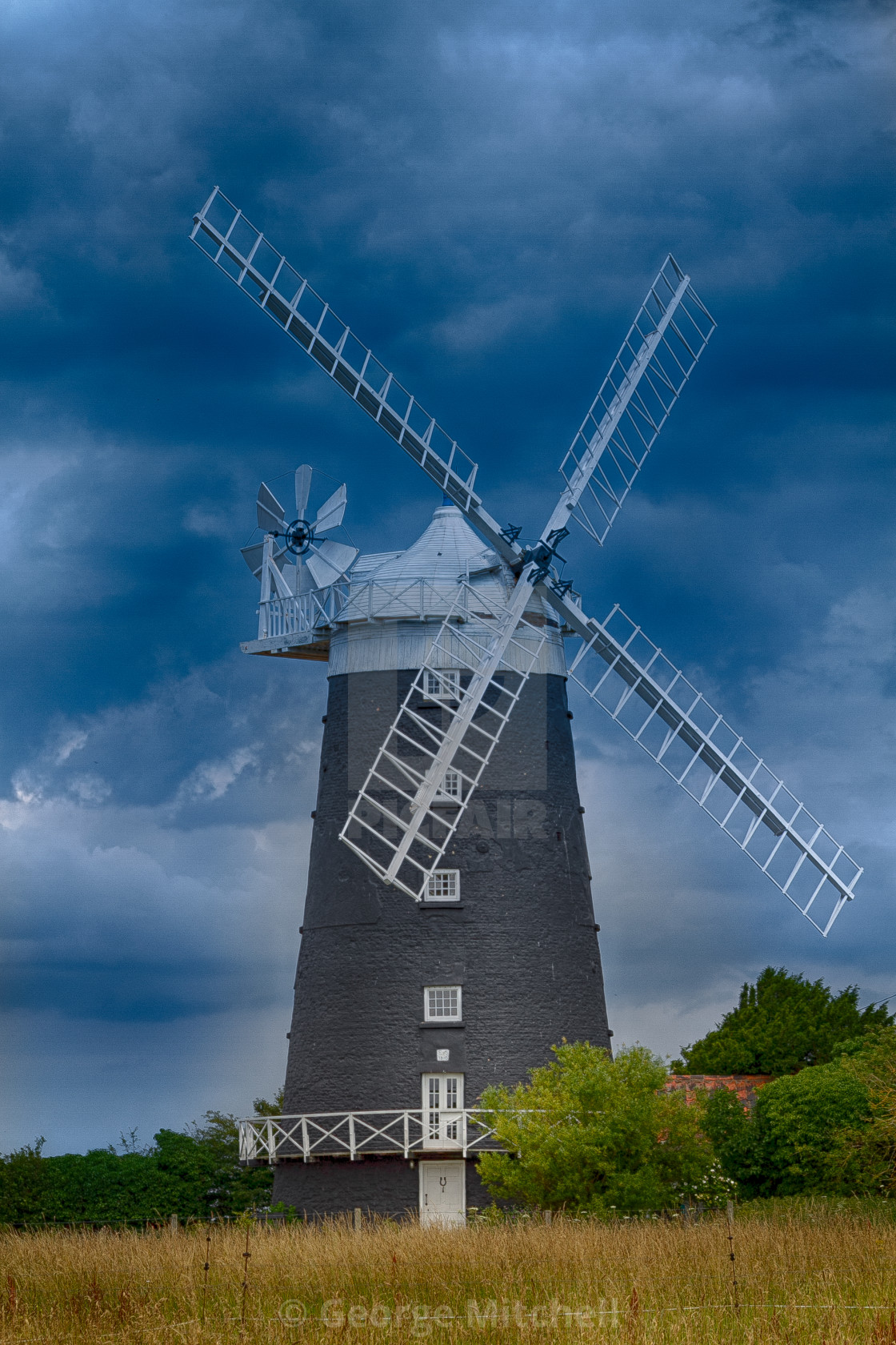 """Tower Windmill"" stock image"