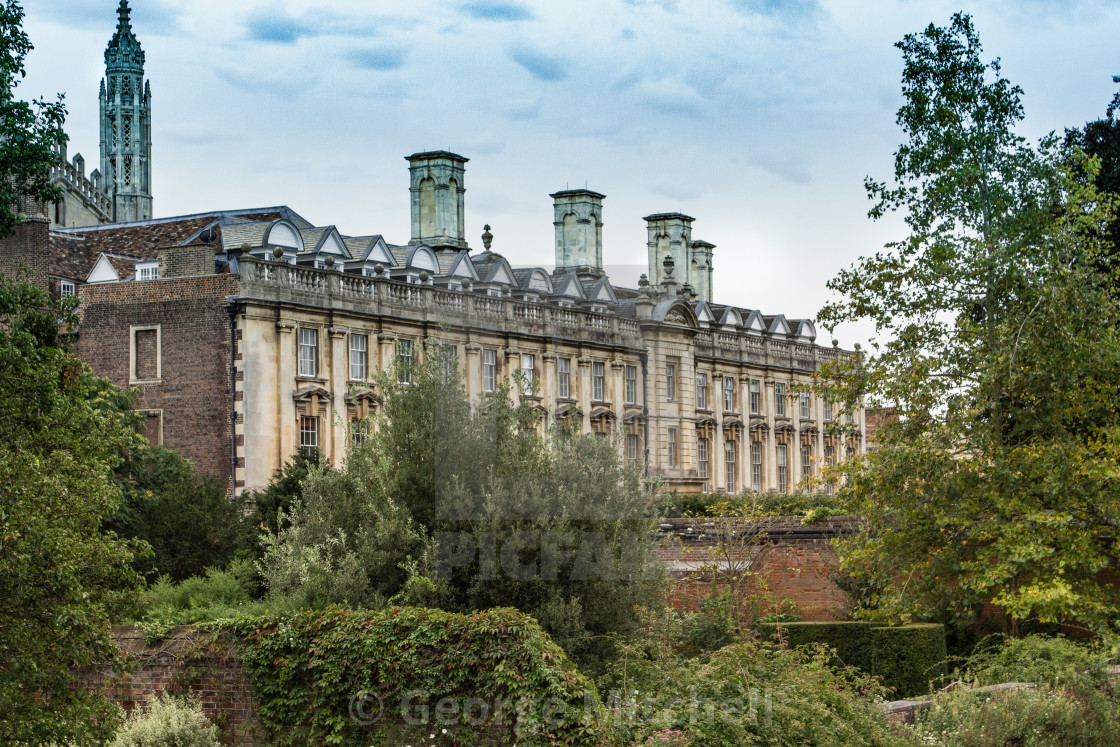 """Clare College, Cambridge"" stock image"