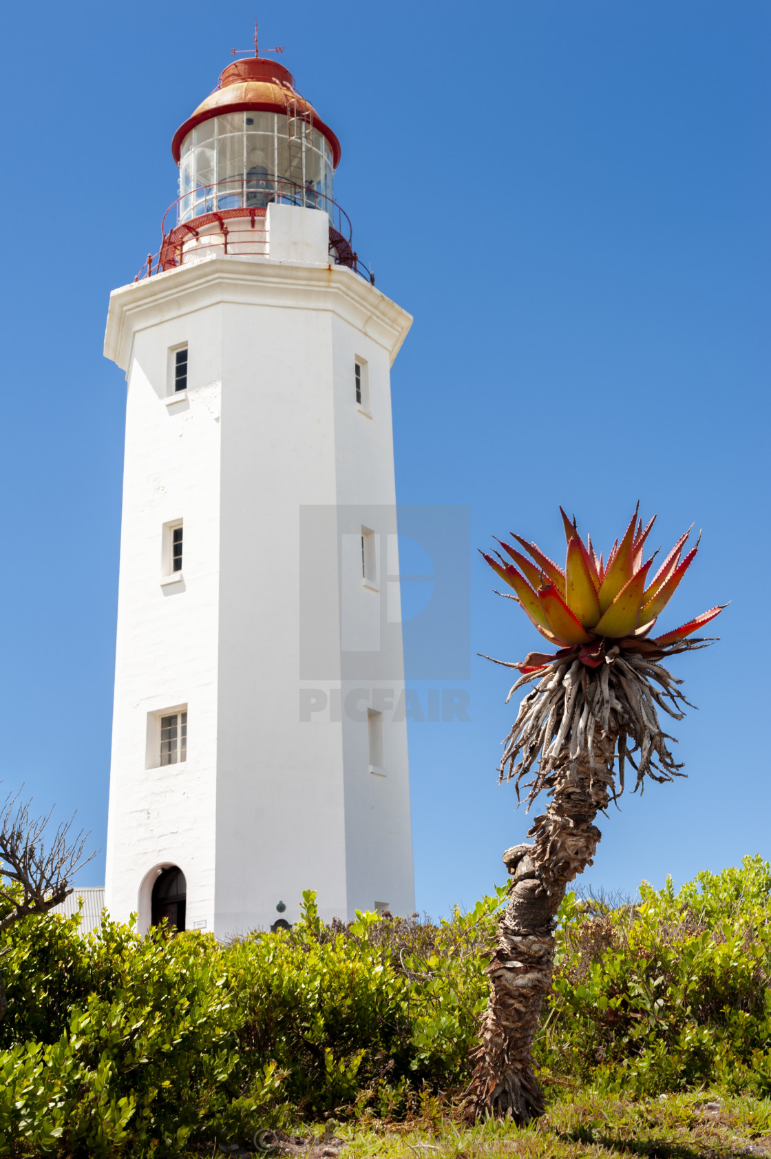 """""""Dangerpoint Lighthouse"""" stock image"""