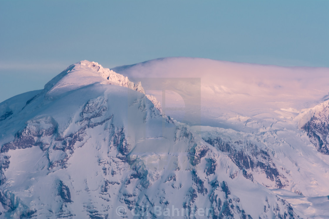 """Mt. Rainier Cloudcap"" stock image"