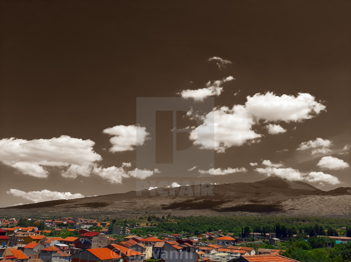 """""""Etna Nord"""" stock image"""