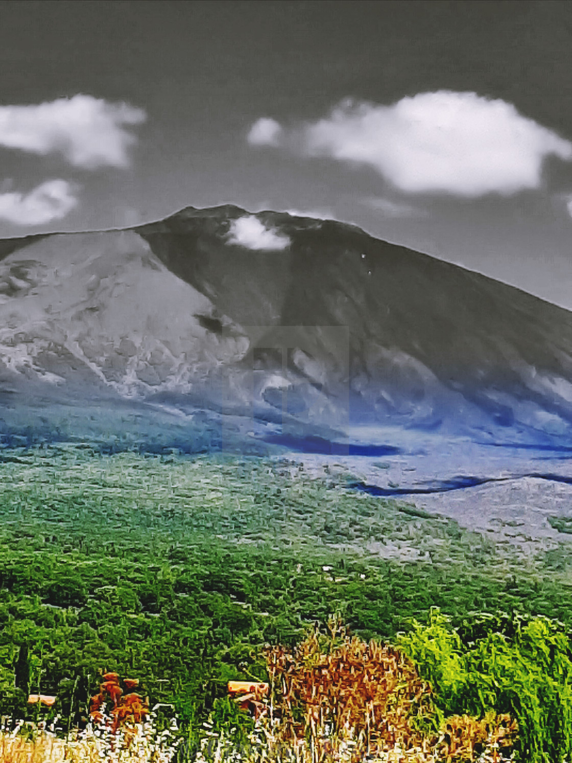 """Etna nord"" stock image"