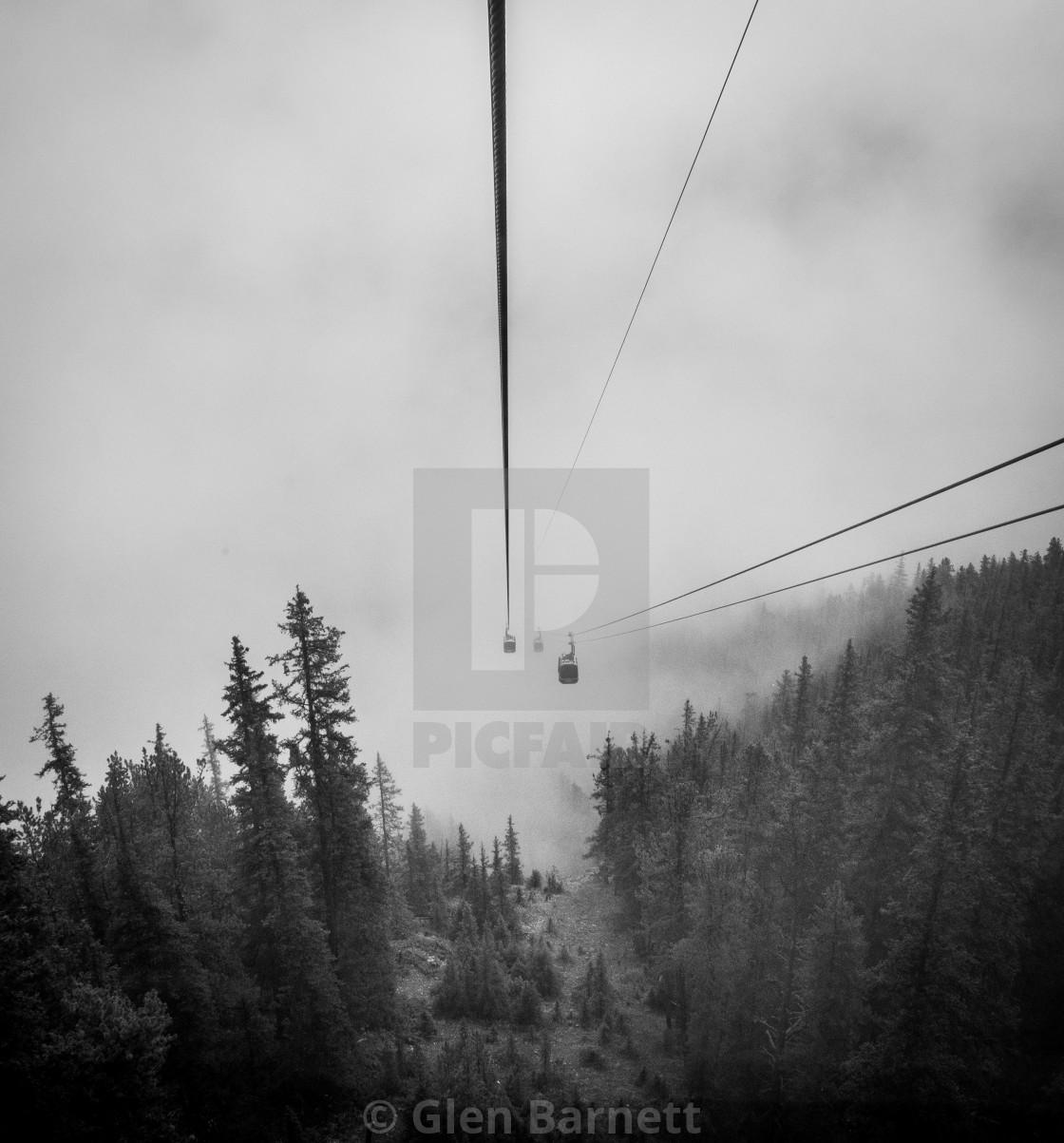 """The Cable Car"" stock image"