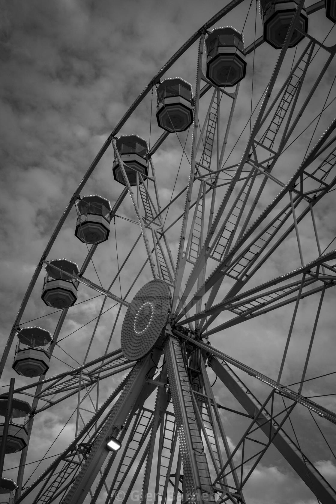 """The Big Wheel"" stock image"