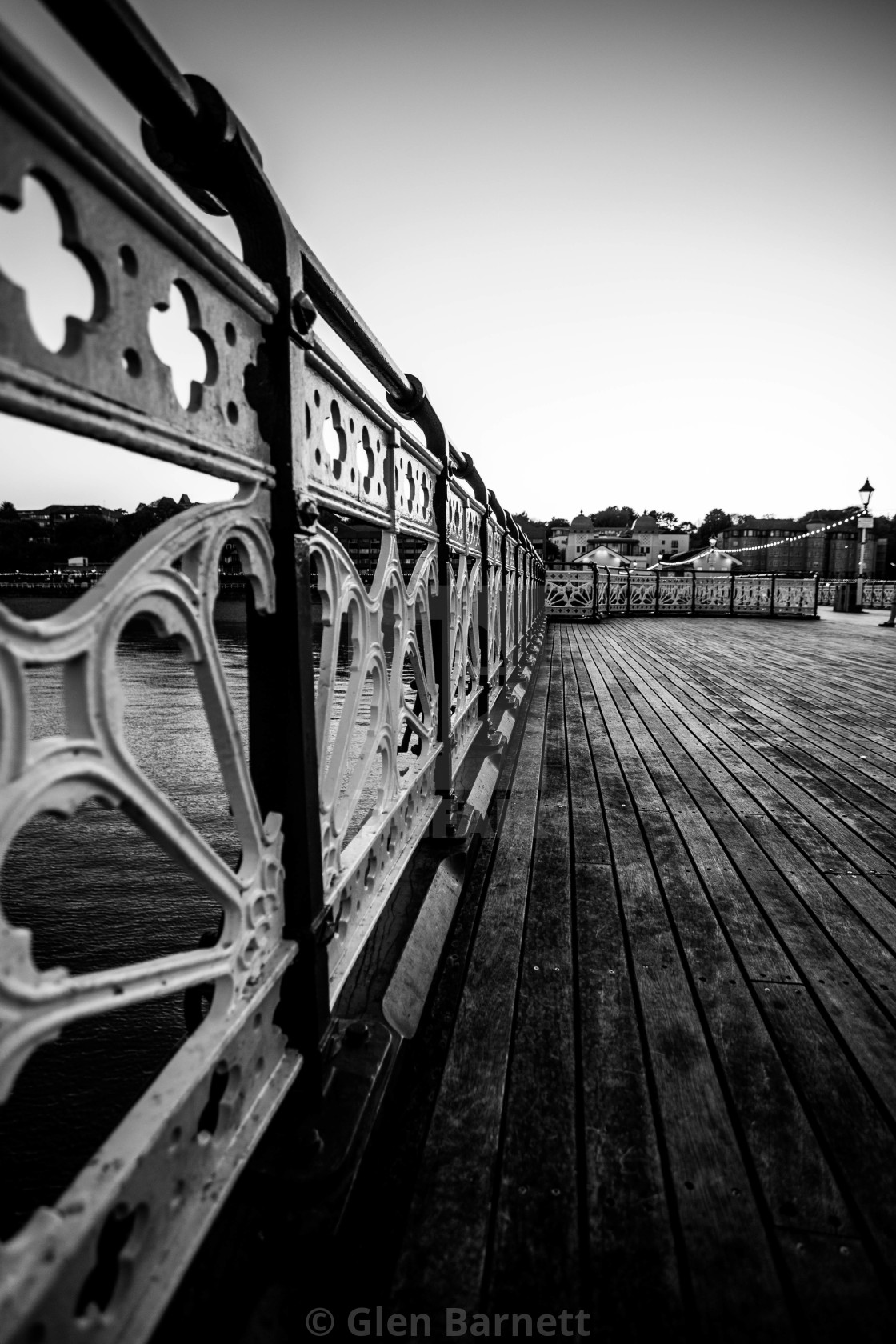"""""""The Pier"""" stock image"""