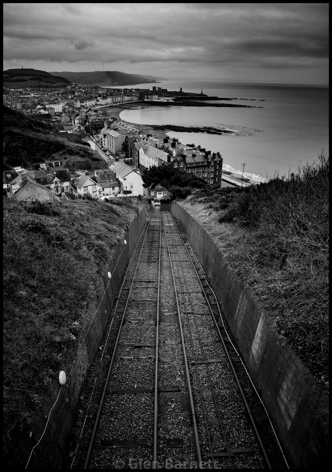 """""""The Rail Track"""" stock image"""