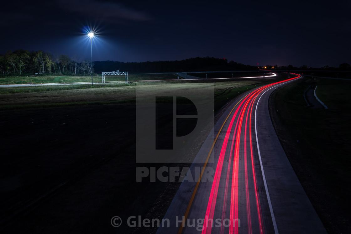 """Road to LFK"" stock image"