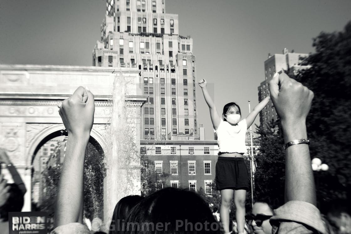 """Biden-Harris Celebration in NYC"" stock image"