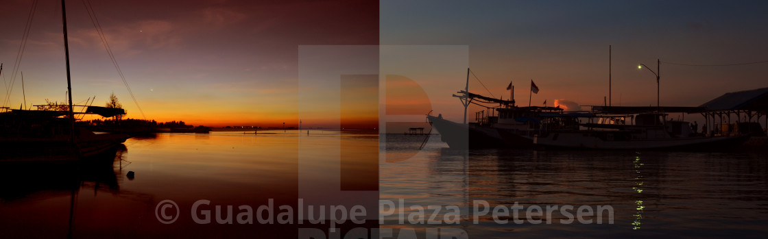 """Boats in Jepara"" stock image"