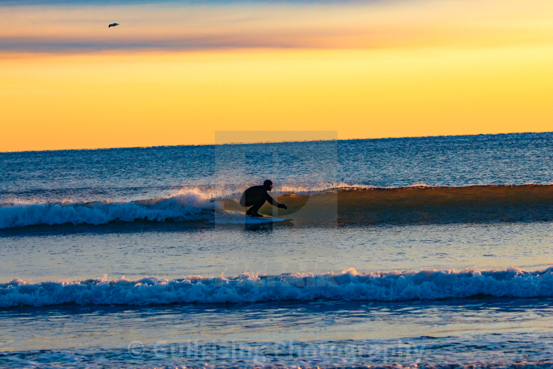 """Winter Surf"" stock image"