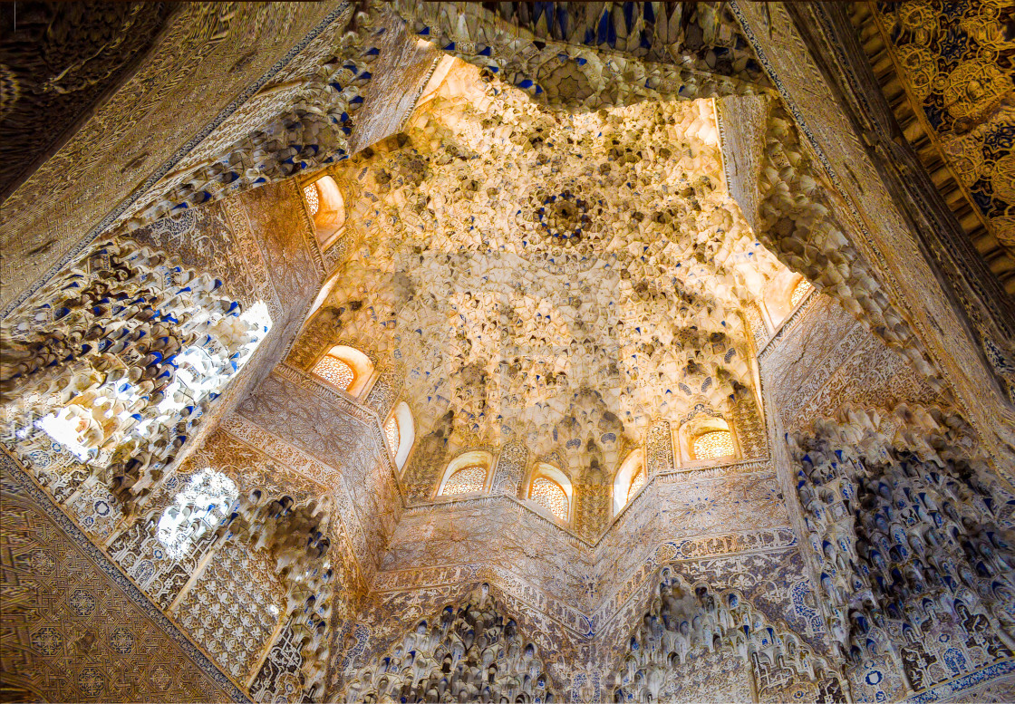 """Hall of the Abencerrajes, Alhambra Palace"" stock image"