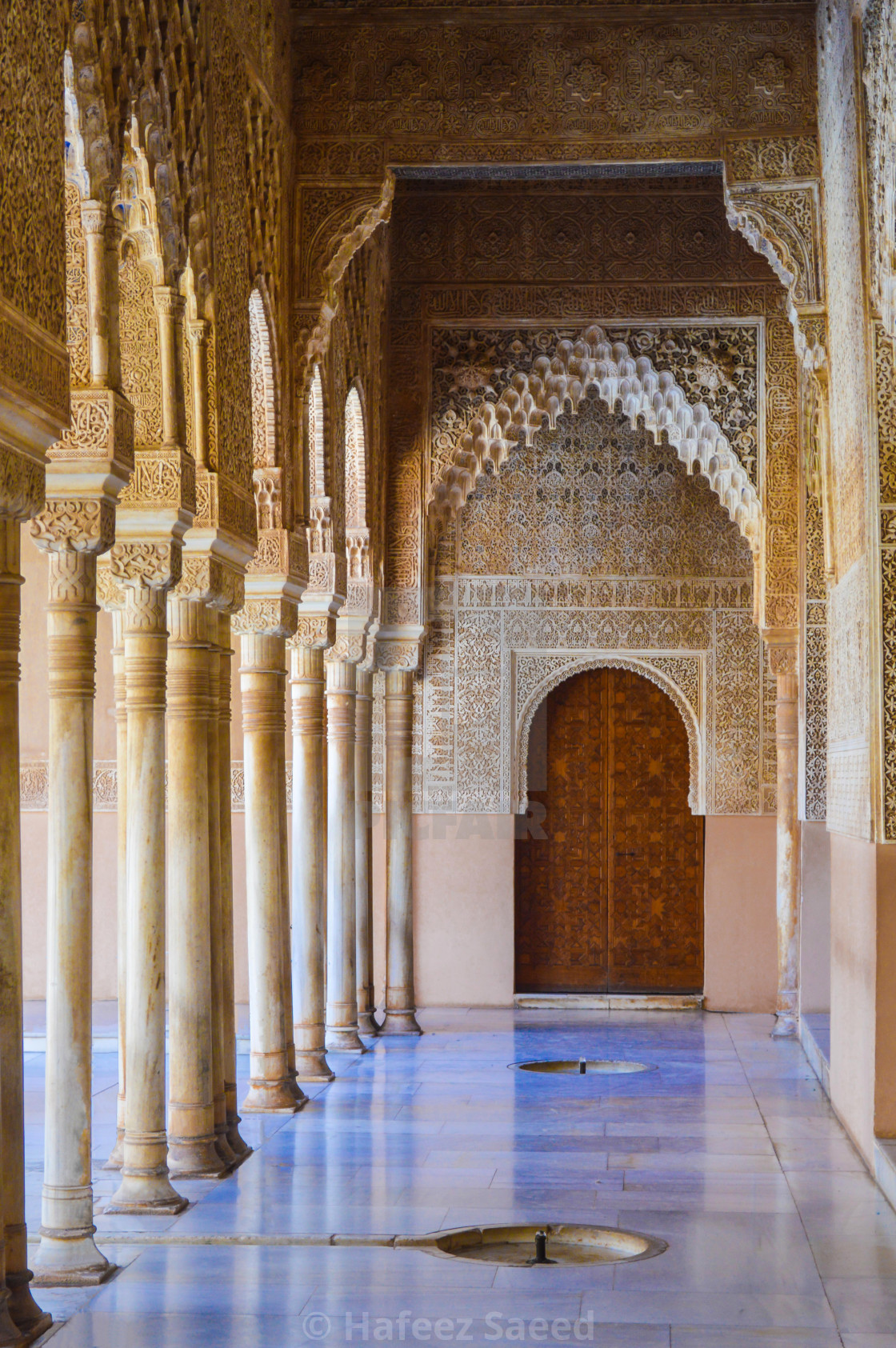 """THE ALHAMBRA PALACE"" stock image"