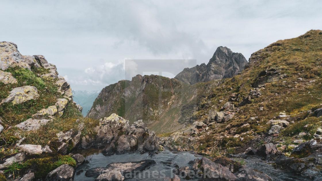 """Mountain river"" stock image"