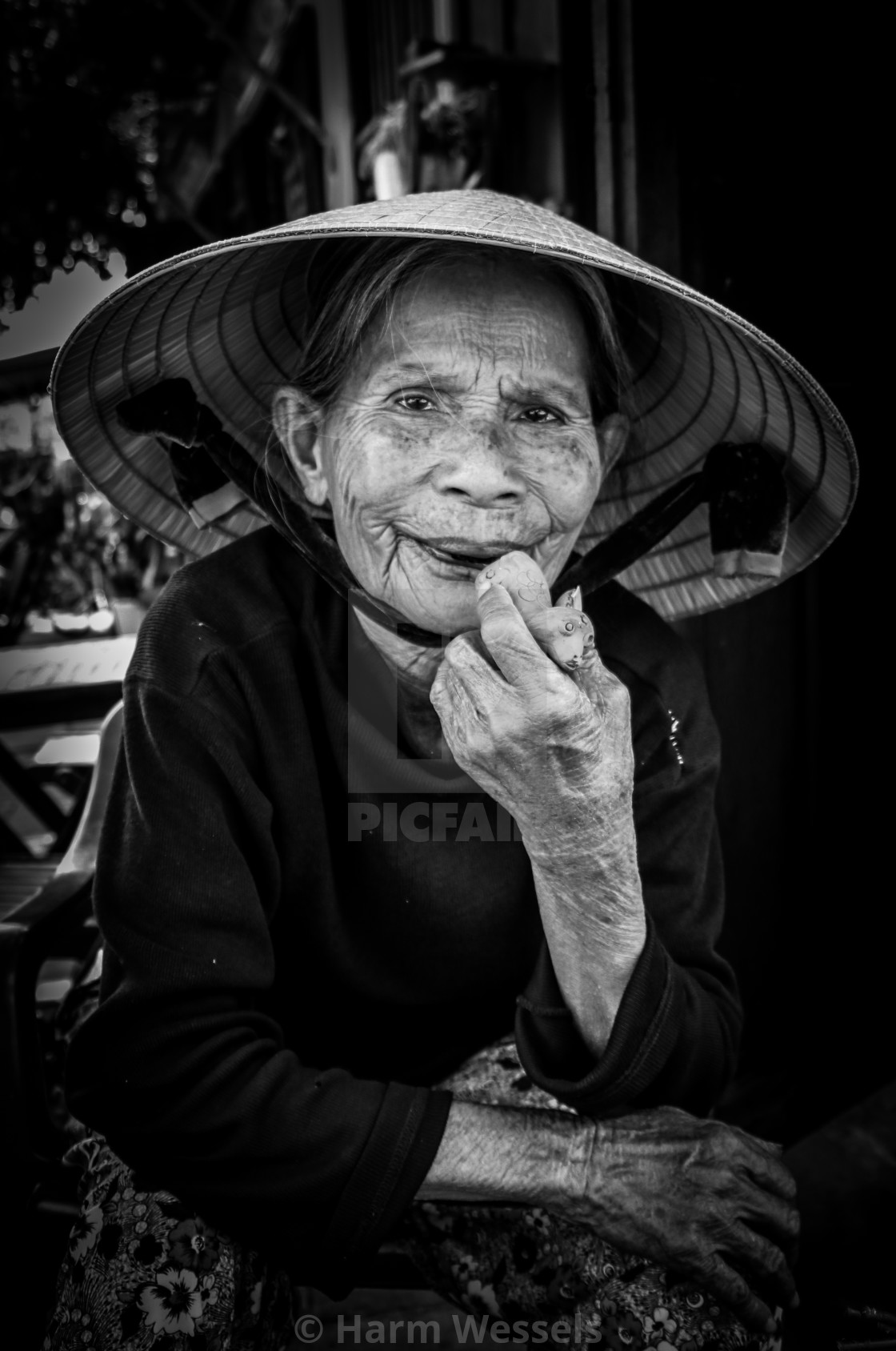 """""""Faces of the World - Vietnam"""" stock image"""