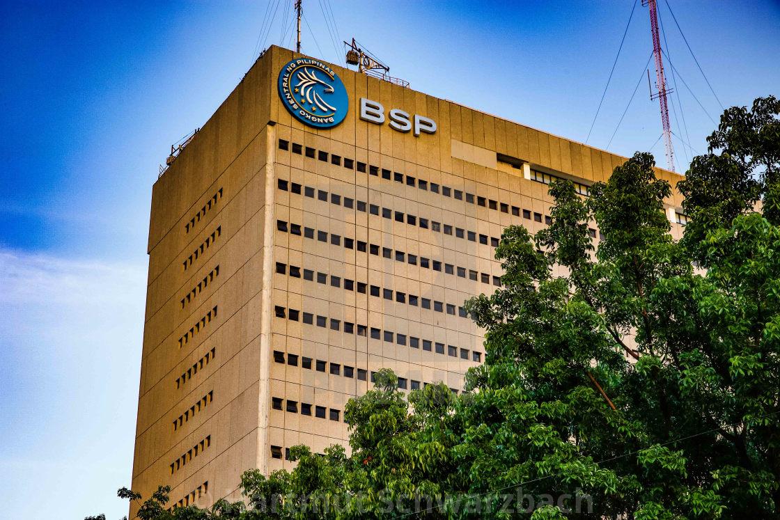 """""""Zentralbank der Philippinen - Bangko Central ng Pilipinas"""" stock image"""