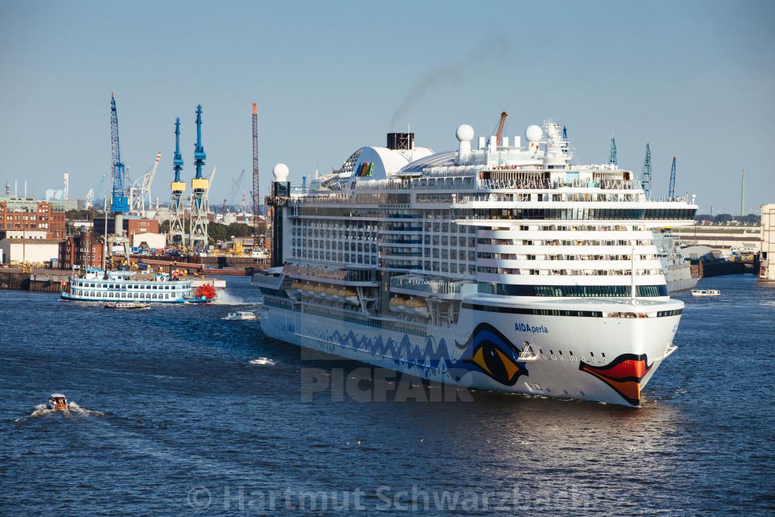 """Kreuzfahrtschiff Aida Perla"" stock image"