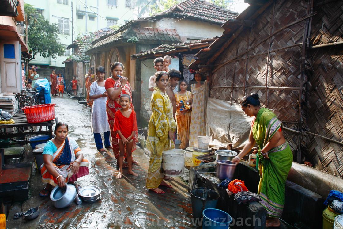 """Street Photography in Kolkata"" stock image"