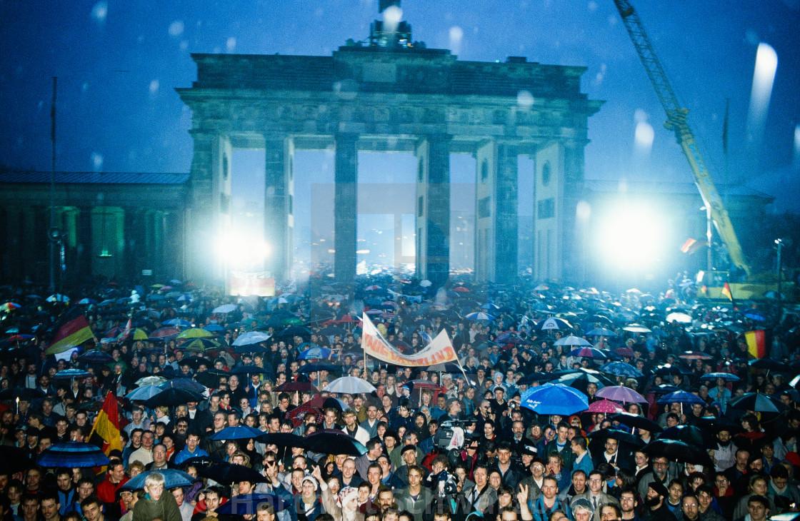 """DDR Berlin Wall - Mauerfall - German Democratic Repbublic"" stock image"