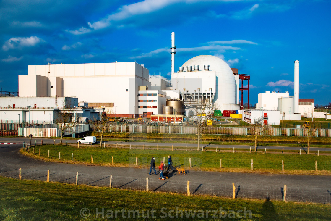 AKW Brokdorf - Nuclear Power Plant