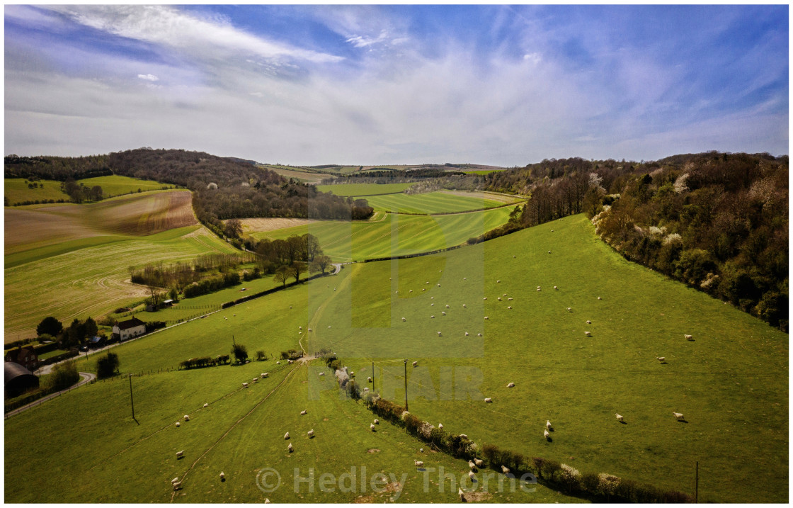 """North Unhill, Battle of Ashdown"" stock image"