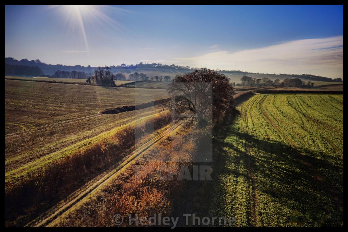 """The Ridgeway at Britwell"" stock image"
