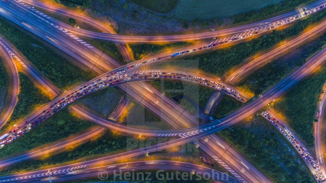 """Highway Crossing"" stock image"
