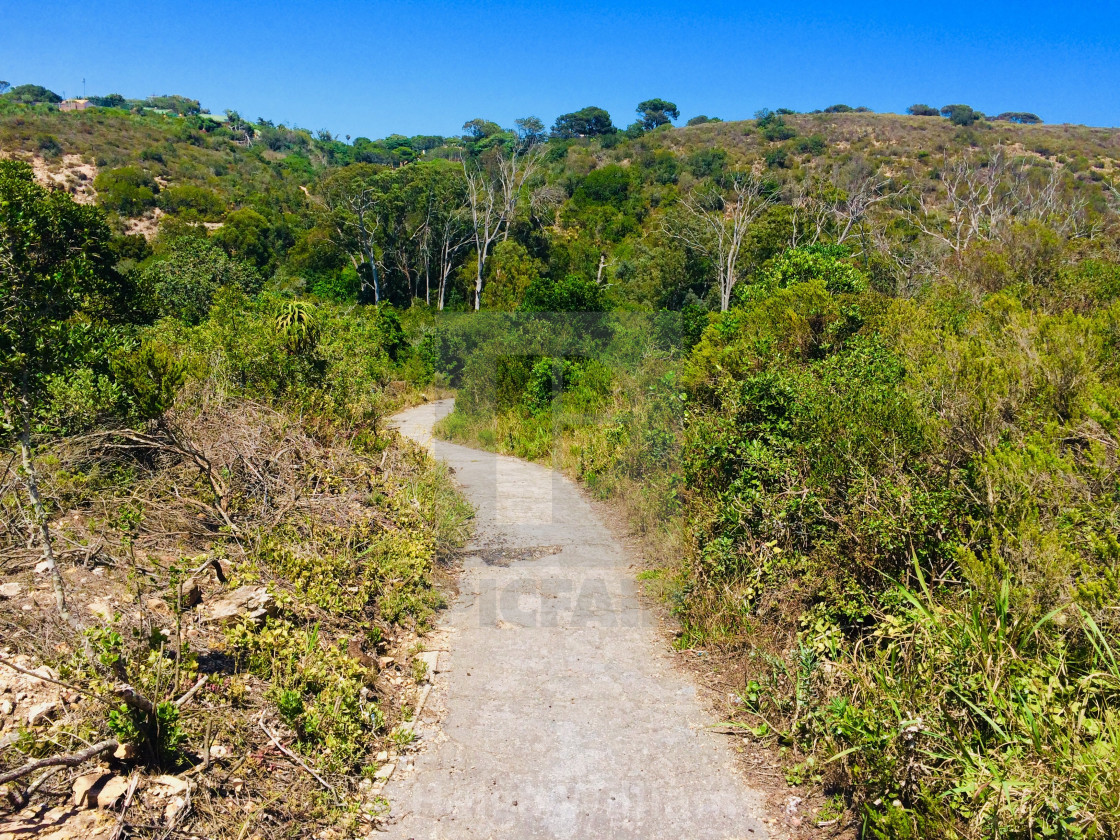 """Hiking in Port Elizabeth, South Africa"" stock image"