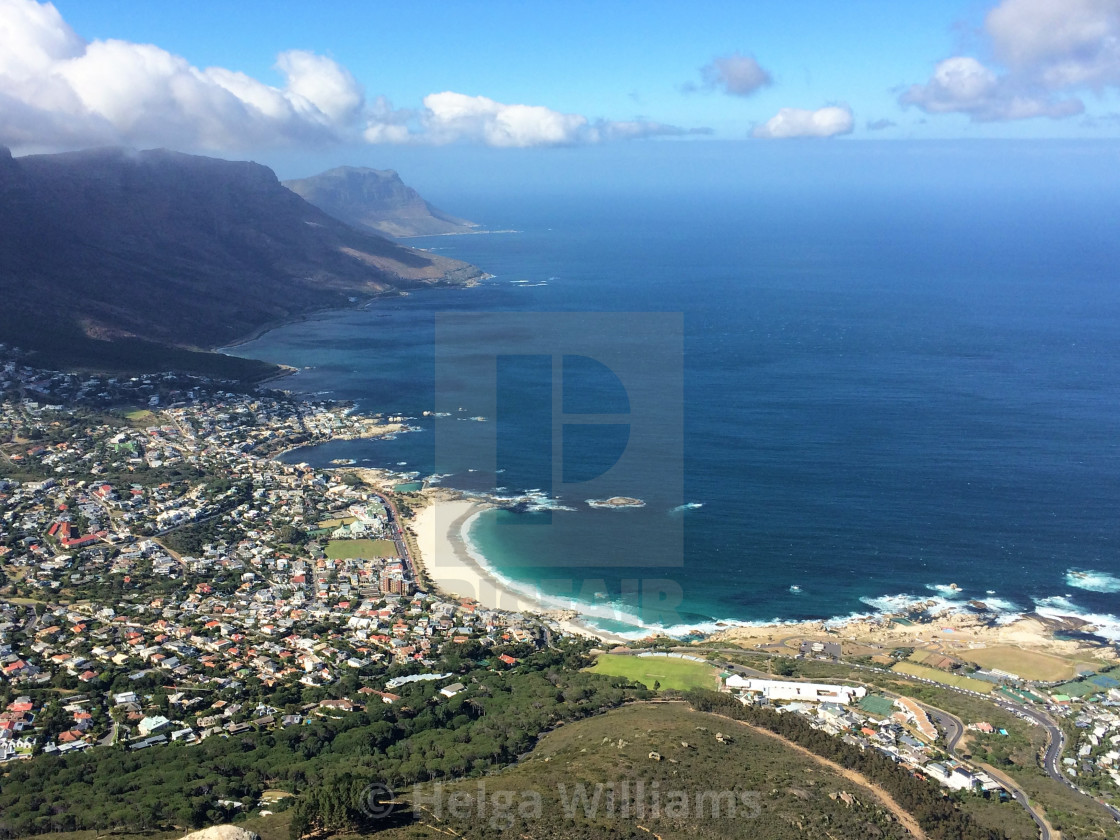 """""""Camps Bay, Cape Town"""" stock image"""