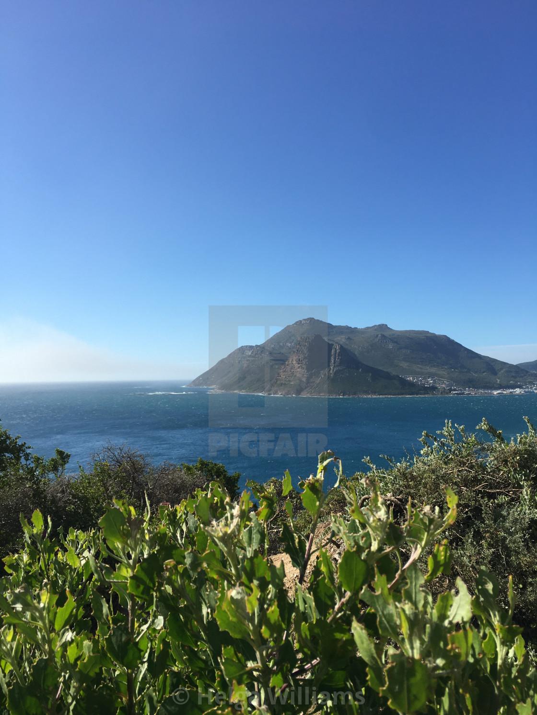 """""""Chapmans Peak Drive, Cape Town"""" stock image"""