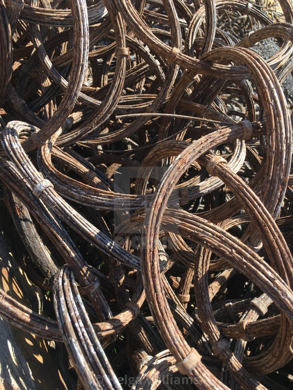 """""""Steel Rings"""" stock image"""