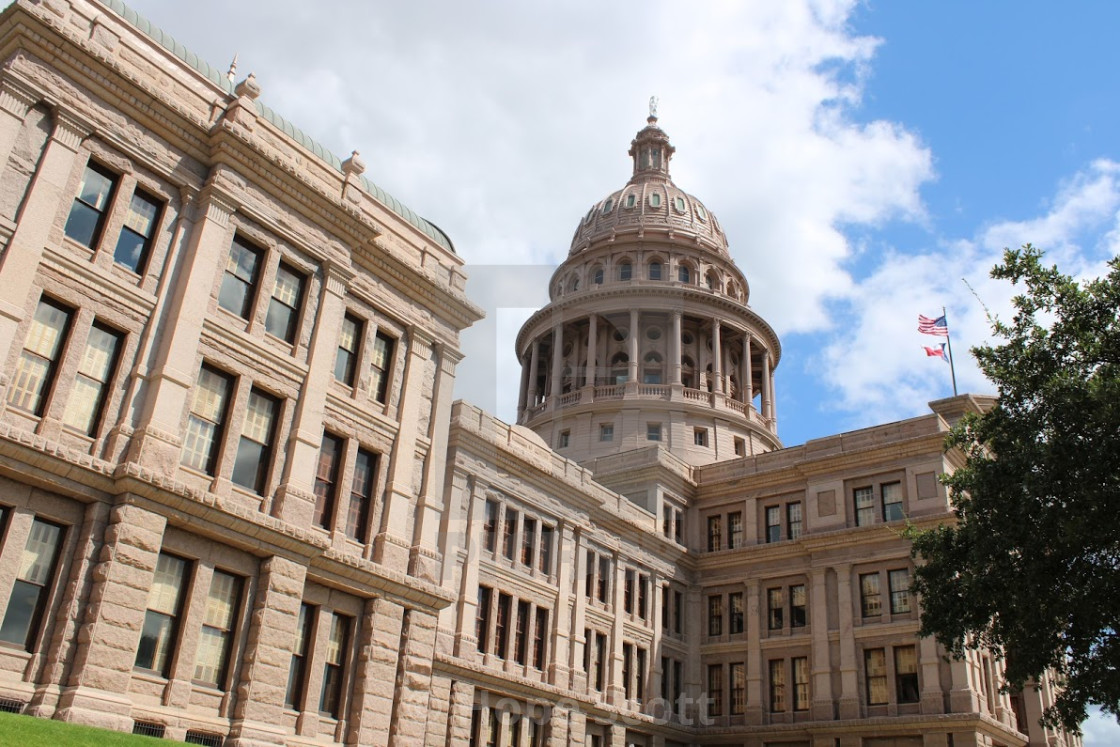 """Texas State Capitol"" stock image"