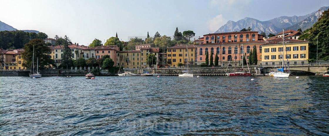 """Malgrate at Lake Como"" stock image"